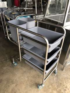 Dish Collecting Cart