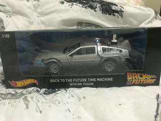 Hot Wheels Back to the Future with Mr. Fusion
