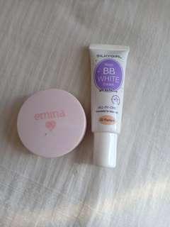 ❤BISA BARTER Magic BB White Cream&Loose Powder