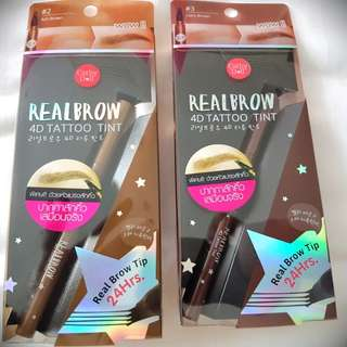 Cathy Doll Realbrow 4D Tattoo tint