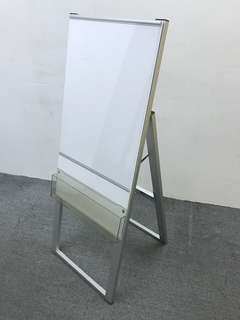Aluminium stand for A2 poster and brochure. Size width 18ins x height 48ins