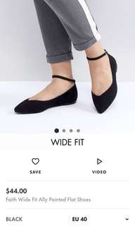 Pointed Flat Sandles