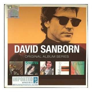 DAVID SANBORN - Original Album Series 5 CD SET (Imported from Germany)