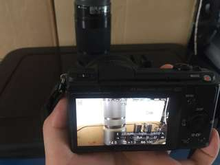 Sony a5100 with e-mount lens