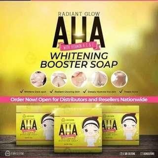 AHA Whitening Soap