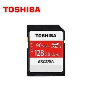 東芝TOSHIBA EXCERIA™ N302 SD記憶卡 128GB