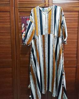 Dress Gamis Zenaya Salur EMA Daily Mulus like New