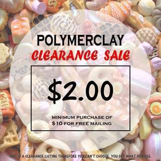 Polymer Clay Clearance Sale