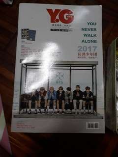 Y.G BTS magazine and others kpop