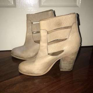 Leather Wittner Ankle Boots