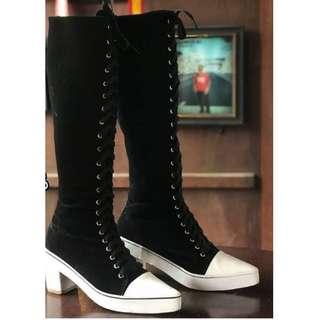 Women boot shoes 5 cm