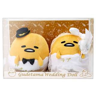 [PO] Sanrio Japan Gudetama Wedding Doll Set