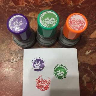 BNHA Self-Inking Stamps