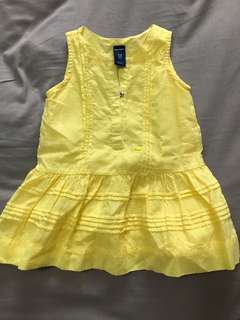 Old Navy Yellow Sunddress 3-6 mos