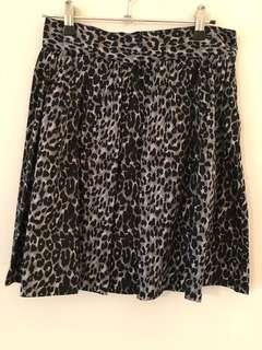 Princess highway leopard patterned skirt