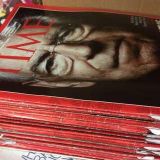 TIME Magazine collection 2011 & 2012