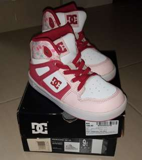 Dc Shoes pink white