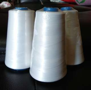 Thread - White Polyster Yarn