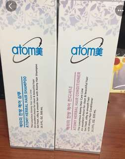 Atomy Shampoo and conditioner