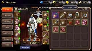 Dragon Nest M Account M4