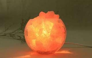 the last one~水晶鹽燈(水晶鹽天然殺菌,清毒,改善空氣質素)