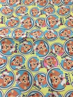 Duffy bear canvas fabric