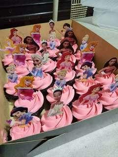 Disney's princess Cupcakes 🍰