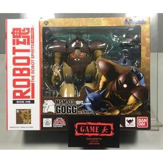 ROBOT魂 217 MSM-03 GOGG 愛爾蘭魔蟹 A.N.I.M.E. VER. ANIME 高達 GUNDAM 全新