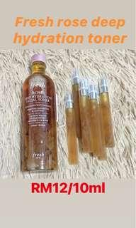 Fresh Rose Deep Hydration Toner (10ml Trial)