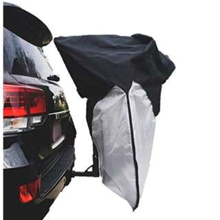Formosa Covers Dual Bike Cover for Home Storage, Car, Truck, RV, SUV Hitch Mount Bike Rack (Fits 1-2 Bikes)