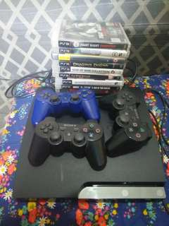 PS3 Game Console and games