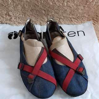 Sepatu Elizabeth Denim Modis size 40