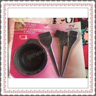 Hair Color Tools Set