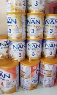 Nan 2 3 4 gro HA milk powder optipro toddler baby milk