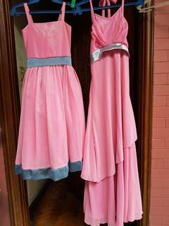 Mother and daughter gown