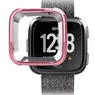 New Instock - #JANSIN Rose Gold Fitbit Versa Case