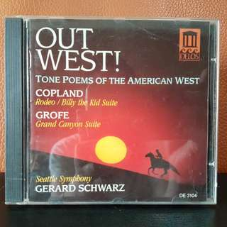 Copland / Grofe - Tone Poems Of The American West