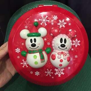 🚚 日本帶回迪士尼米奇米妮爆米花桶