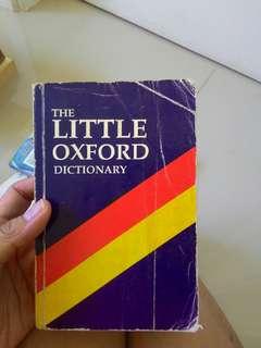 Buku Kamus / Little Oxford Dictionary