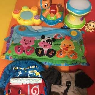 🚚 一堆二手玩具
