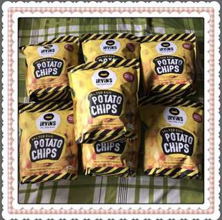 Irvins Salted Egg Potato Chips FOR SALE