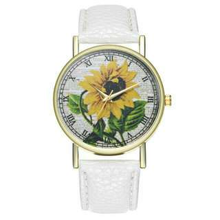 Sunflower Wrist Watch 🌻