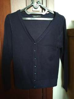 eustacia & co navy sweater