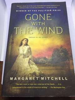 Gone With The Wind paperback