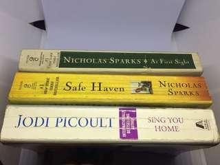 Lot Preloved paperbacks