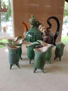 Antique  wine pot