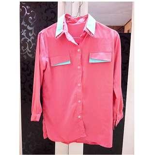 Kemeja/Blouse Pink