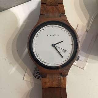 徳國 Kerbholz 手錶 木頭 LAM-DA/WAL