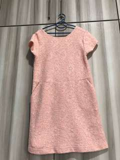 Preloved Original Zara Girls - Dress - Orange