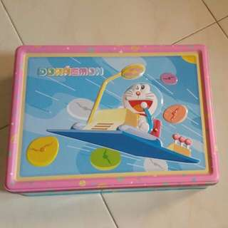 DORAEMON MOON METAL BOX